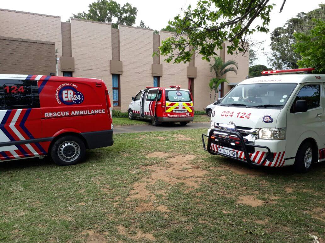 20 children (ages 2-6) were injured this afternoon when they were stung by bees, Amanzimtoti