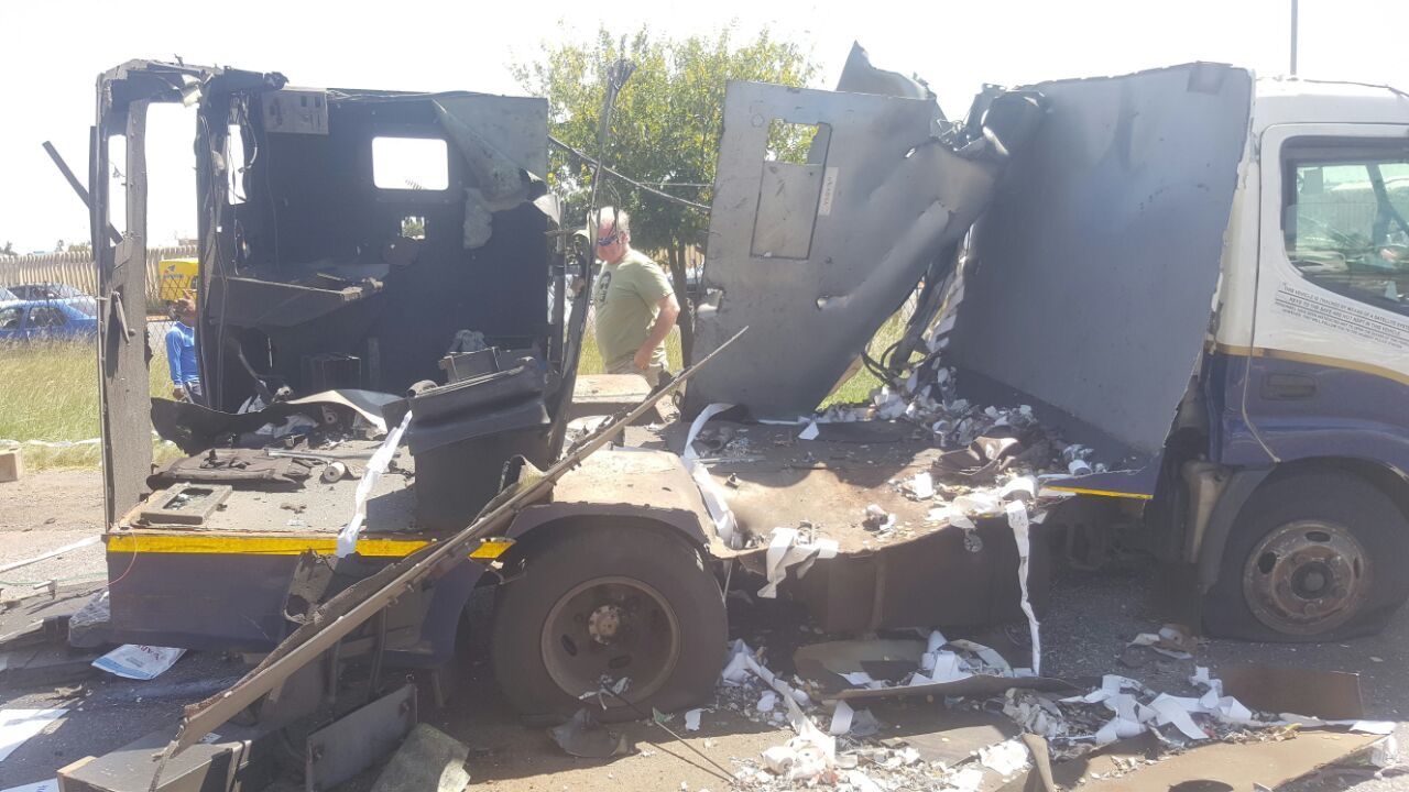 Watch Video Three Assessed After Cash In Transit Heist On