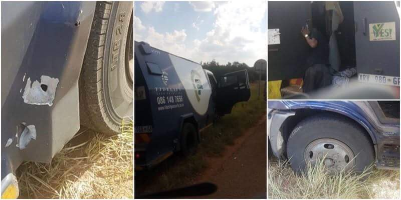 2nd CASH-IN-TRANSIT HEIST FOR TODAY, MOOINOOI