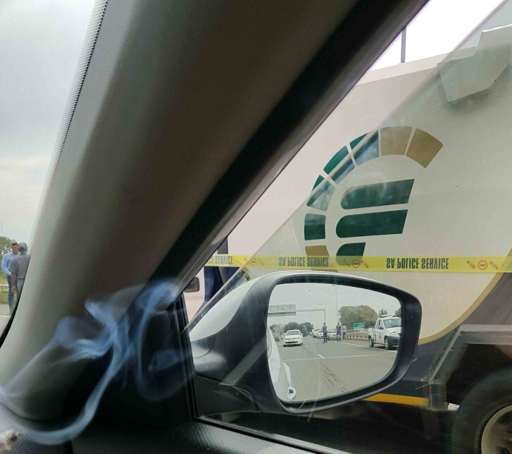 CASH-IN-TRANSIT ROBBERY, ACCIDENT & BULLETS FLYING ALL OVER IN BLOEMFONTEIN