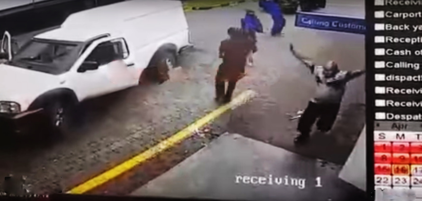 WATCH CCTV Footage of Brazen Cash-in-Transit Robbery in Lowveld yesterday