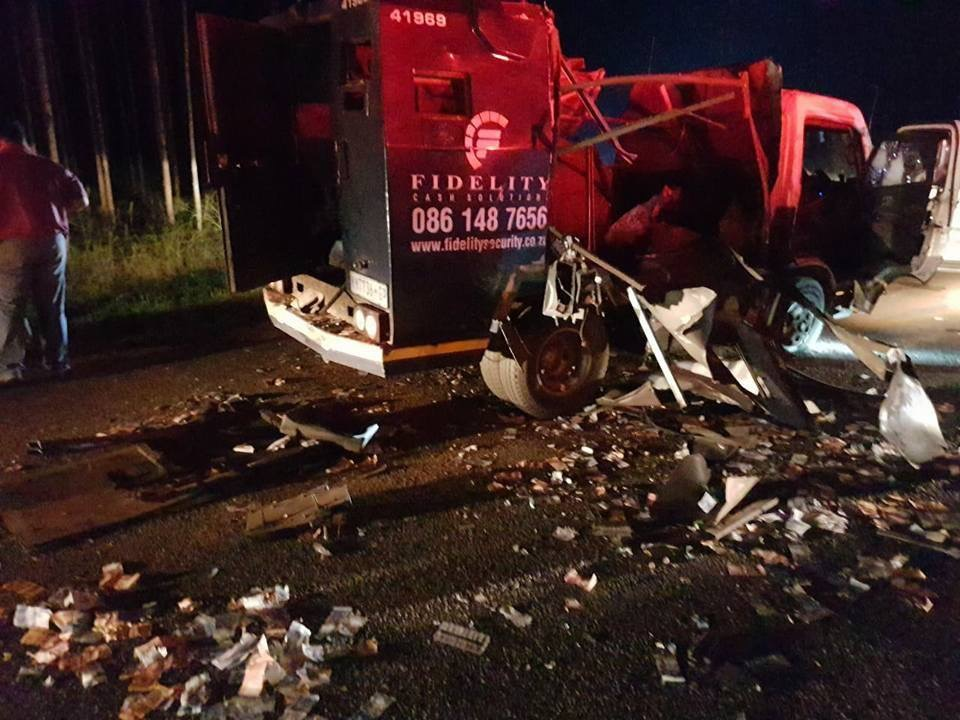 CASH-in-TRANSIT HEIST Leaves Two Injured