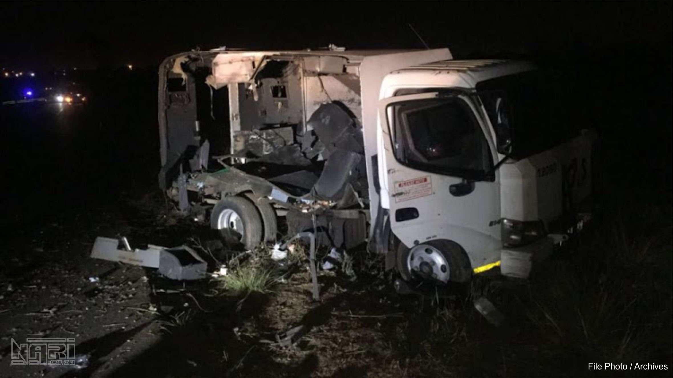 2 GUARDS Seriously Injured in Cash-in-Transit heist this evening, Rustenburg