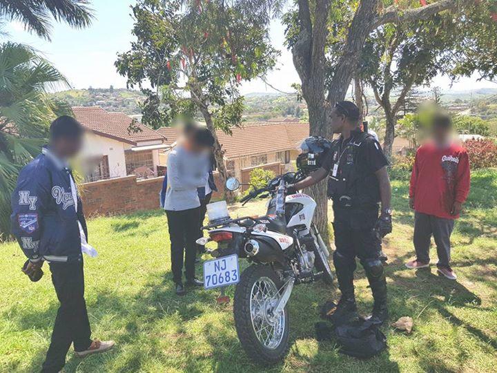 Bunking Scholars caught in Possesion of Alcohol & Marijuana in Verulam, Kwa-Zulu Natal