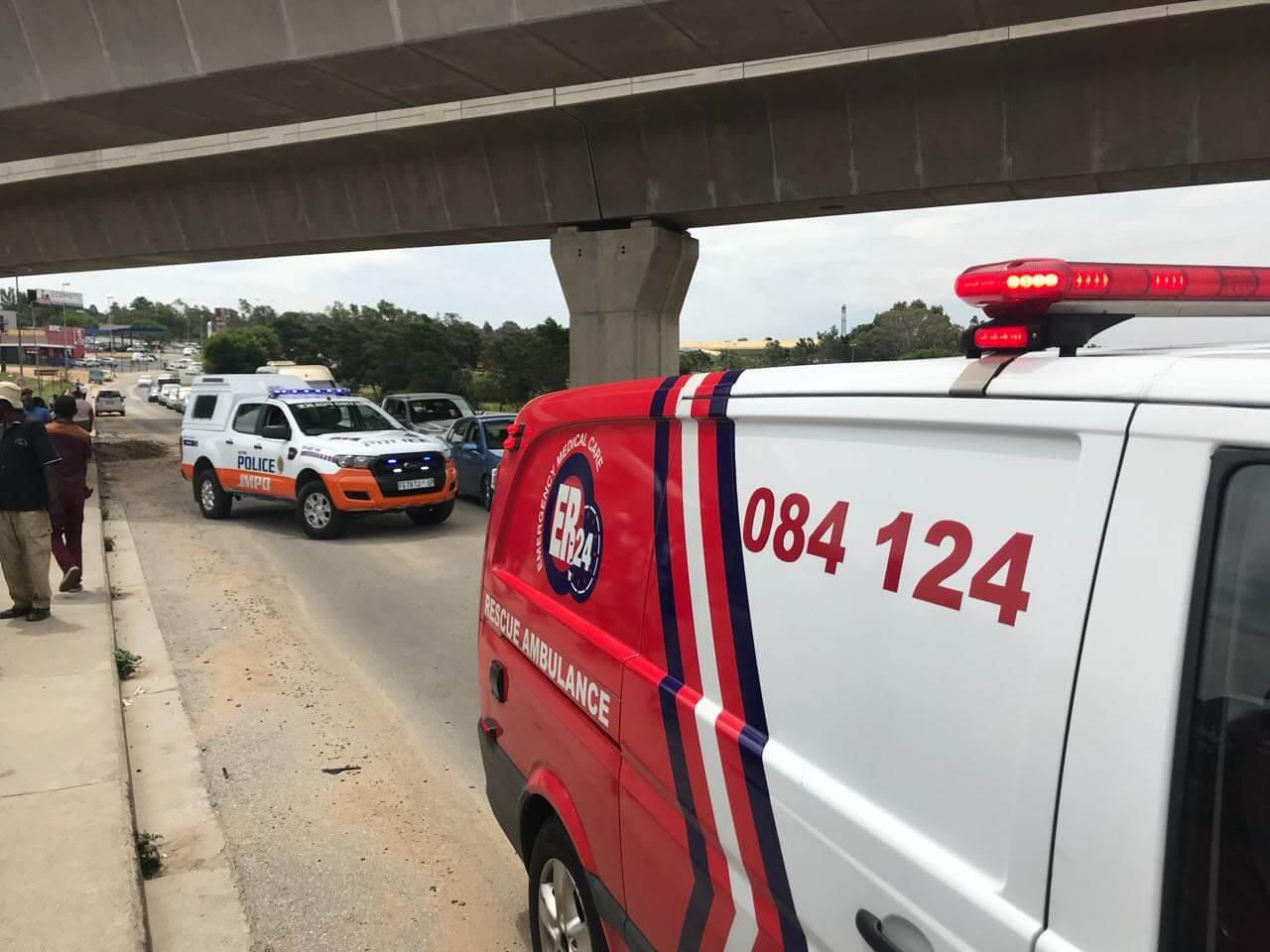 The Body of a Newborn Baby Boy was Found in a River in the Marlboro area, JHB