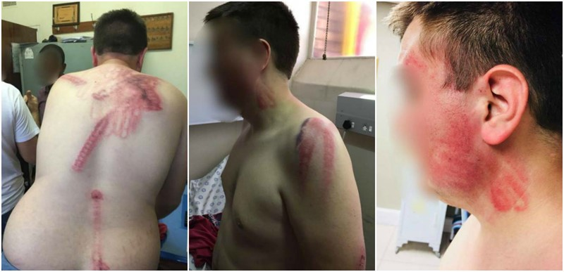 PNA Security Guard Viciously Assaults 16-year-old boy