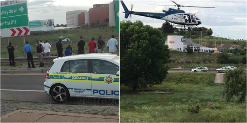 UPDATE ON CRIME SCENE: Beyers Naude N1 South Incident