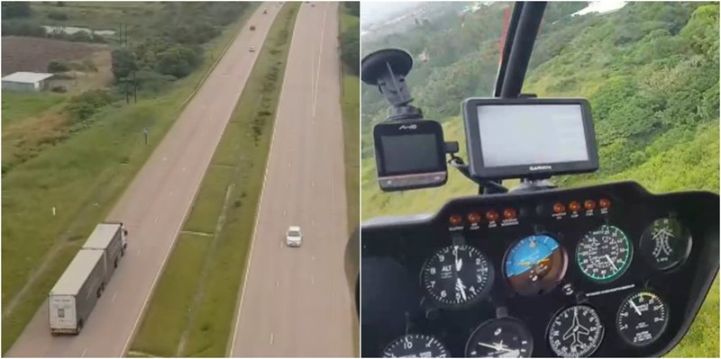 HELICOPTER FLIGHT WITH RUSA: Hijacked Trailer Recovered in Salt Rock, KwaZulu Natal