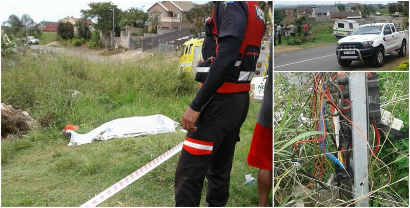 50 Year Old Killed By Illegal Electricity Connection in Tongaat, KZN