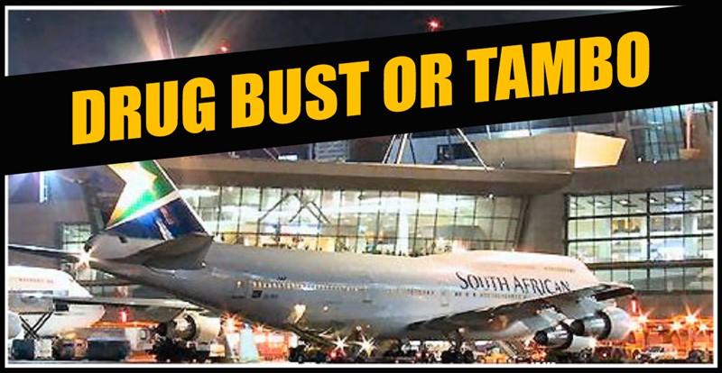 HUGE DRUG BUST: R18-Million Drug Bust at OR Tambo International Airport