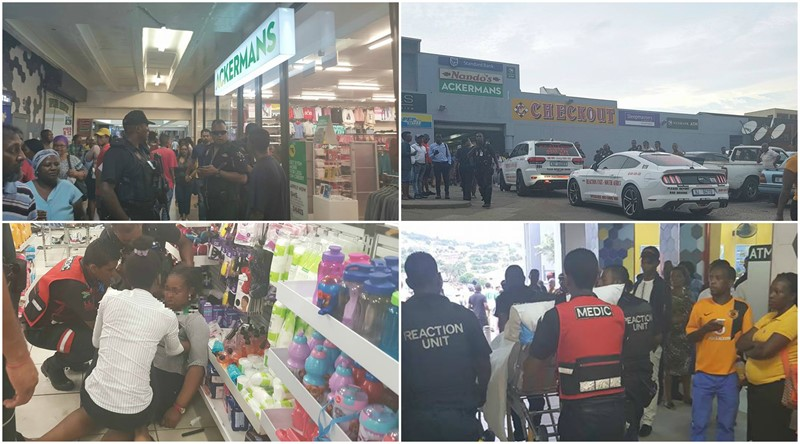 Undisclosed amount of Cash robbed in Armed Robbery at Ackermans Store in Verulam, KZN