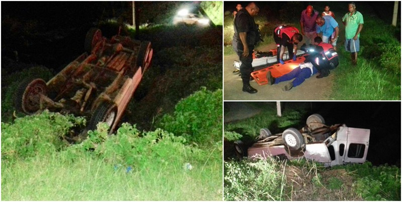 Negligent Driver Forces Vehicle Off the Road in Verulam, KZN