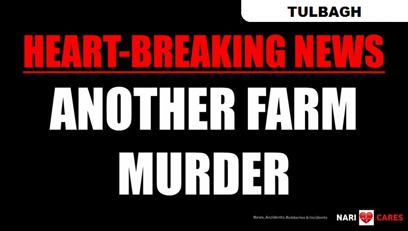 HEART-BREAKING NEWS - WESTERN CAPE FARM MURDER: Large number of Police members on-scene