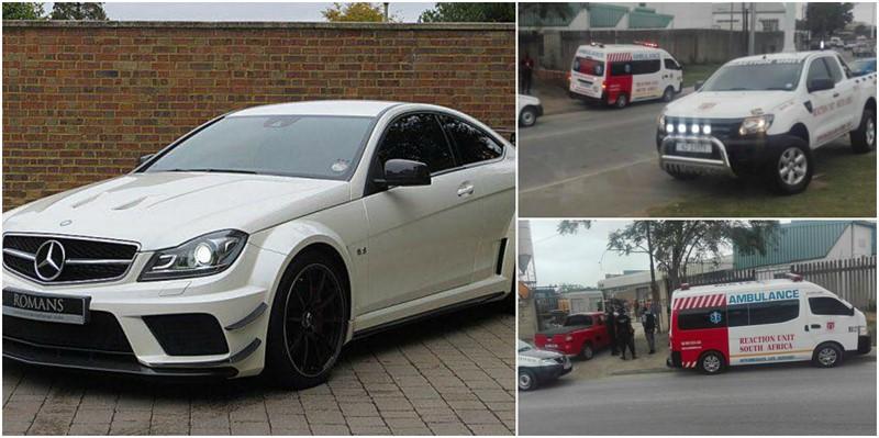 Mercedes C63 with Reg Nr: ND 681-371 was taken In Hijacking Phoenix, Kwazulu Natal