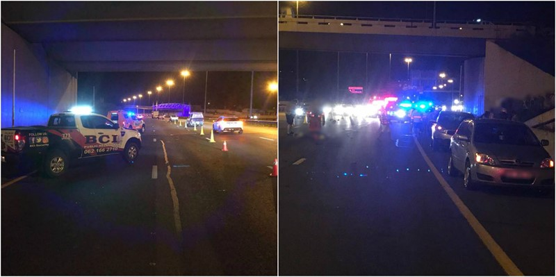 Suicide: Man Jumped from the N1 Bridge and was struck by several vehicles, JHB