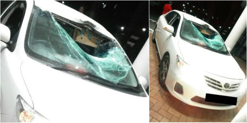 Woman & Child were Killed last night after Boulder thrown from Bridge onto Car, KZN