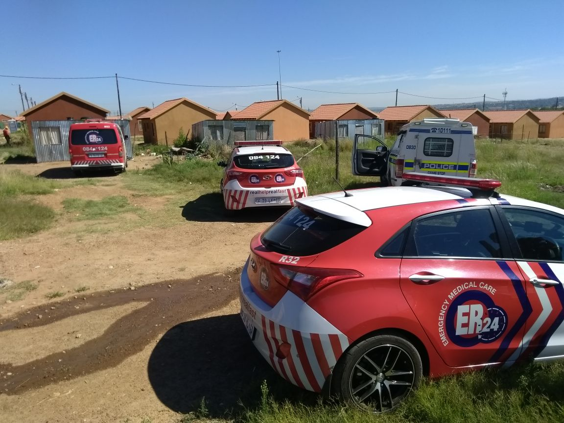 A Man is in Serious Condition after he was Attacked with an Axe, Olievenhoutbosch