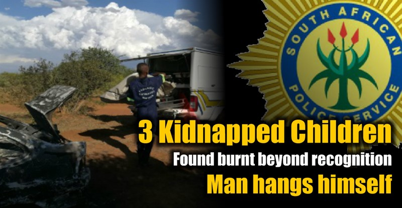 The Bodies of 3 kidnapped Children Found burnt beyond recognition, Man hangs himself
