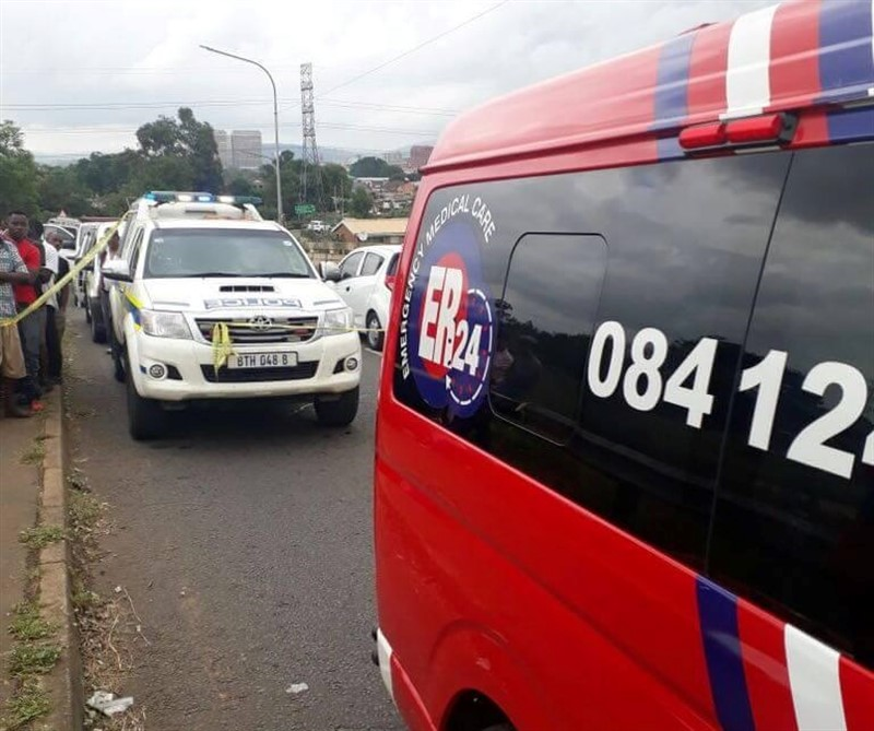 The Body of a Man was found in some bushes off Manning Avenue in Pietermaritzburg