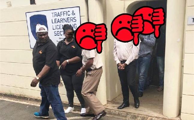 MAJOR CRACKDOWN ON CORRUPTION: 15 Arrested including Cleaner, Clerk & 9 Applicants