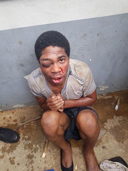 ATM Card Thief Apprehended & Beaten in Verulam, KZN