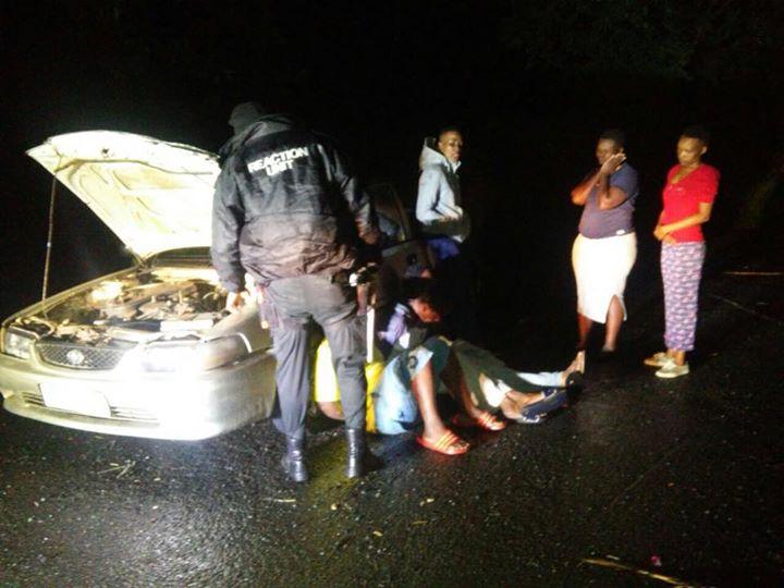 CRIME UPDATES: Three Men & Three Women were Arrested In Stolen Vehicle in Esenembe, KZN