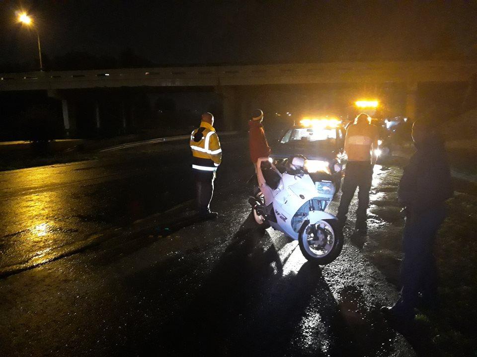 BRACKENFELL / KRAAIFONTEIN: A Bike Rider was Attacked with Knife on N1 before Brighton brigde