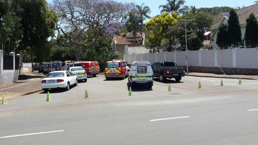 HIJACKING: A Man sustains 3 gunshot wounds to his leg in an attempted hijacking, Glenwood