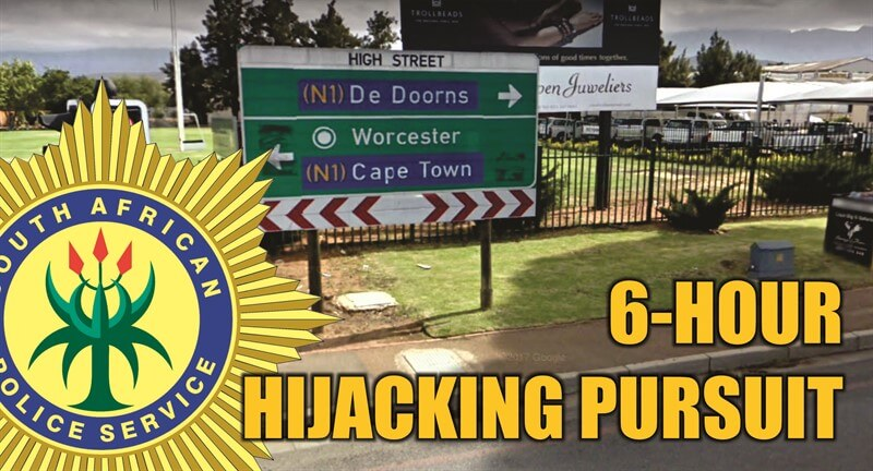 SAPS Worcester News: 6 HOUR HIJACKING PURSUIT - Couple Safely Reunited