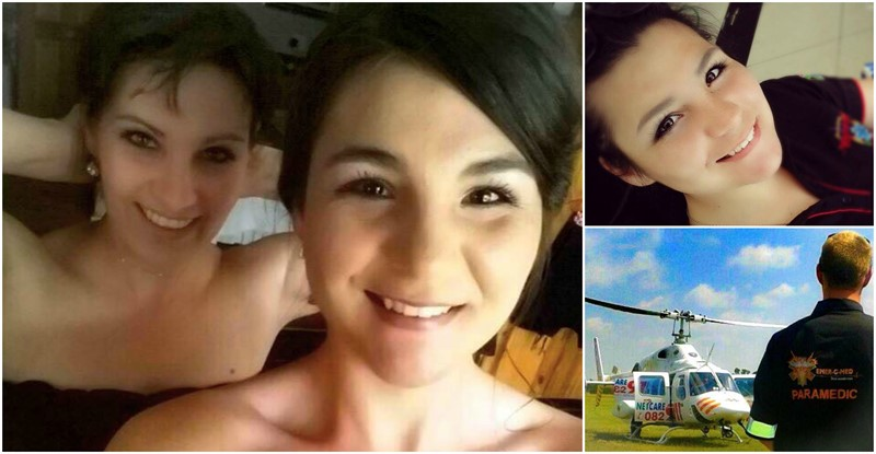 PARAMEDIC MOM responded to a Hijacking scene in her own driveway where Daughter was shot