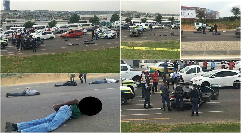 HIJACKERS NAILED: 4 Hijacking Suspects Arrested after High-speed chase & Multi Vehicle Crash