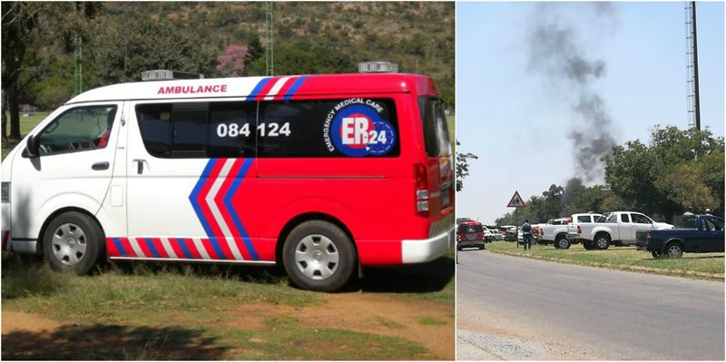 PROTEST ACTION left Several people injured at a school in Falconridge, Vaal Area