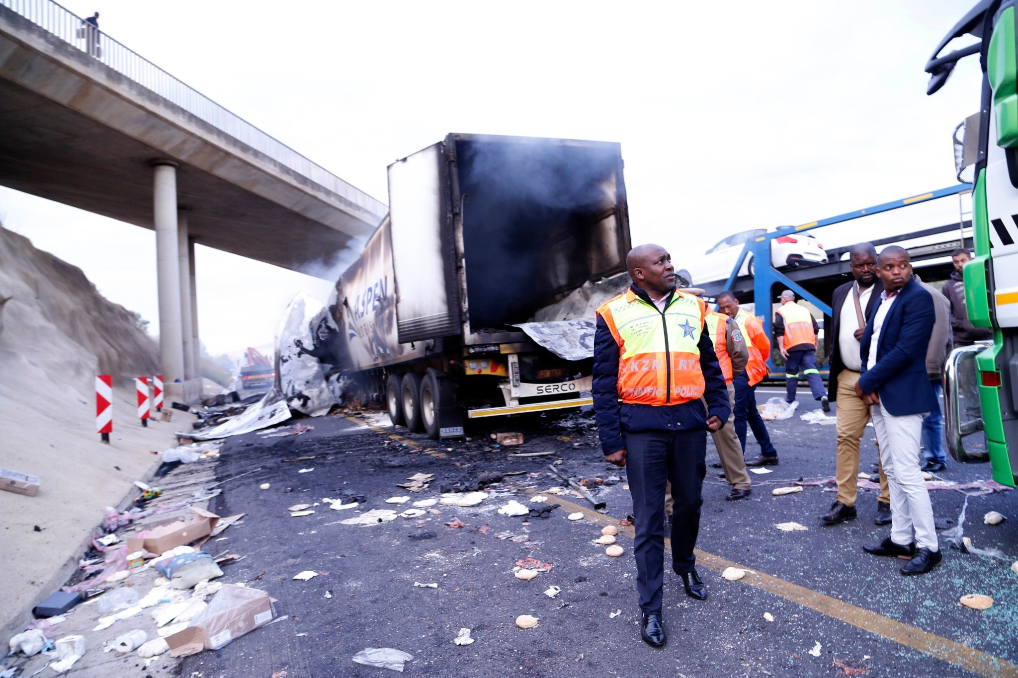 MOOI RIVER SAPS UPDATE: N3 Road still Closed, 35 Trucks Damaged, 54 Arrested
